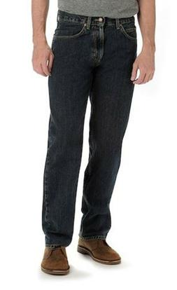 Mens NWT 34 x 32 Lee Tomas Dark Wash Relaxed Fit Straight Le