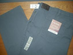 Mens NWT DOCKERS Stretch Denim Jeans Gray EXTRA BIG & TALL S
