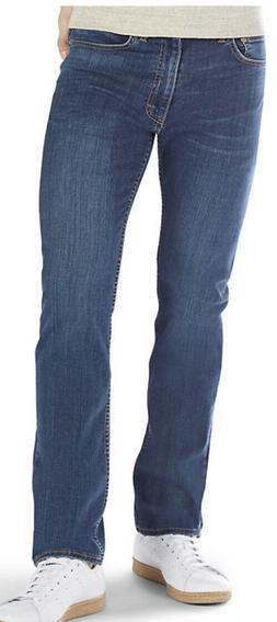 Men's LEE PREMIUM FLEX Regular-Fit / Tapered Leg Jeans Siz