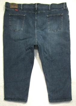 MENS WRANGLER PREMIUM RELAXED FIT STRETCH 97FXWXD JEANS MEAS