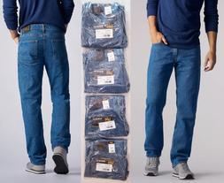 LEE Mens Regular Fit Straight Leg Jeans 32-33-34-35-36-38-40