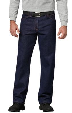 Dickies Mens Regular Straight Fit 5-Pocket Denim Jeans 9393