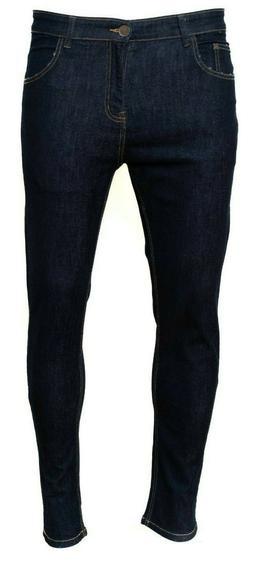 Mens Skinny Jeans Stretch Denim Comfy Slim Fit Jeans Denim P