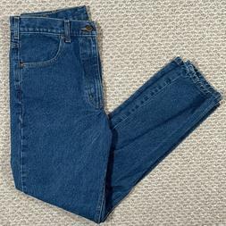 Carhartt Mens Traditional Fit Denim Jeans Work B18 Medium Wa