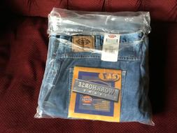 Mens Dickies Workhorse Jeans with Cell Phone Pocket NOS Size
