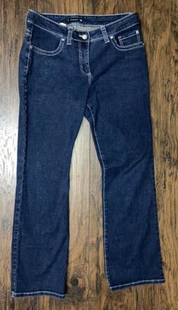 Lee Midrise fit 1889-Denim blue Jeans sz 12 Short
