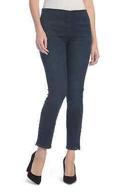 Women's Nydj Millie Pull-On Stretch Ankle Skinny Jeans, Size