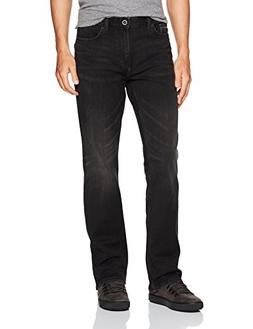 Calvin Klein Men's Modern Boot Cut Jean, Black Lightning, 34
