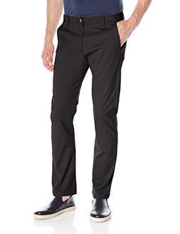 LEE Men's Modern Series Slim Chino Pant, Black, 30W x 32L