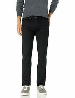 Lee Men's Modern Series Slim-Fit Tapered-Leg Jean, Black, 34