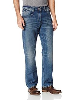 Lee Men's Modern Series Straight-Fit Jean, Brutus, 36W x 32L