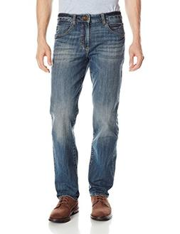Lee Men's Modern Series Straight-Fit Jean, Captain, 34W x 32