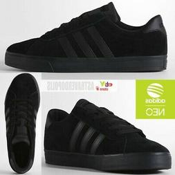 ADIDAS NEO DAILY ORIGINALS JEANS CITY MENS SUEDE SHOES BLACK