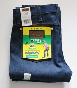 New Wrangler 936 Cowboy Cut Slim Fit Jeans Men's Sizes Rigid