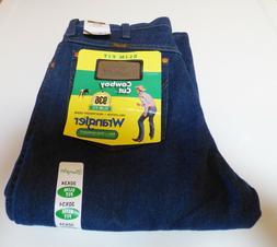 New Wrangler 936PWD Cowboy Cut Slim Fit Denim Jeans Men's Si