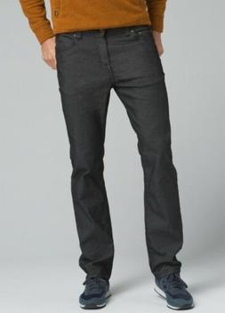 NEW prAna Bridger Men's Jeans 32 X 34 Black Slim Fit Stretch