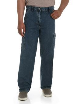 New Wrangler Cargo Jeans Dark Stone Denim ALL Men's Sizes Te