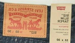 NEW DENIM Levi's 512 SLIM Taper Jeans 288330233