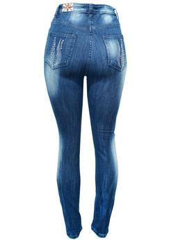 NEW Machine Distressed Ripped Skinny Denim Jeans pick  0 1 3