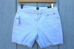 NEW Gap For Good White Denim Jeans Shorts Women's Stretch si