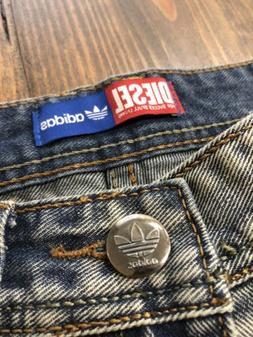 NEW Diesel Kurren Adidas Men's Slim Fit Distressed Jeans •