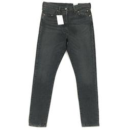 New Levi's 501 Skinny Jeans for Women Stretch Fit Black Wash