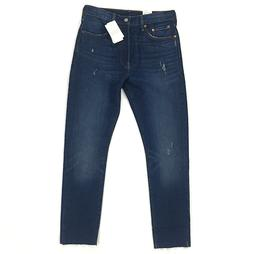 New Levi's 501 Skinny Jeans for Women Stretch Fit Blue Denim
