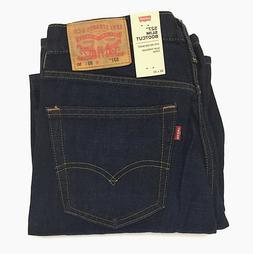 New Levi's Men's 527 Slim Bootcut Jeans 100% Cotton Dark Ind