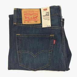 New Levi's Men's 527 Slim Bootcut Jeans 100% Cotton Denim 'A