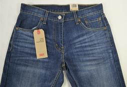 New Levi's Men's 527 Slim Bootcut Jeans 'Allusion' Wash Blue