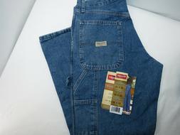 New Men's Wrangler Carpenter- Loose Fit - Size 32x30 Jeans
