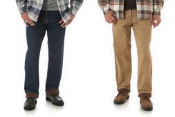 New Wrangler Men's Fleece Lined Carpenter Winter Jeans Men's