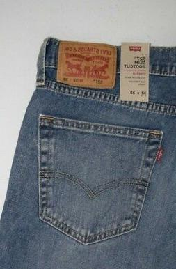 New Men's  Levi's 527 Slim Bootcut Jeans 055270546