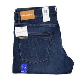New Calvin Klein Men's Straight Fit Jeans All Sizes Mid Deni