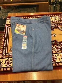 New Men's WRANGLER Stretch flex fit waist jeans size 42x30