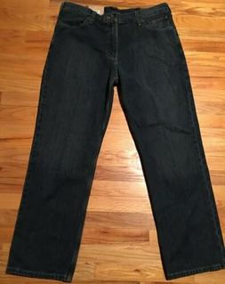 NEW Carhartt Mens Holter Relaxed Jeans Blue Denim Work Pants