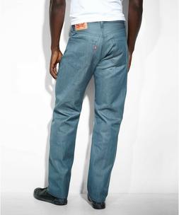 New Mens Levis Levi Jeans Shrink to Fit 501 5 Pocket Button