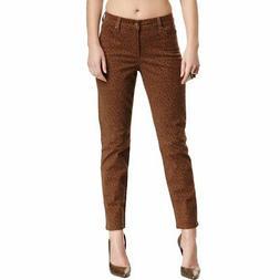 NEW NYDJ Not Your Daughters Jeans Alisha Jaguar Nutmeg Brown