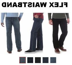 Wrangler Regular Fit Comfort Flex Waistband Jeans Performanc