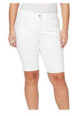 NEW Gloria Vanderbilt Plus Size 24W Jessa Curvy Skinny Bermu