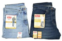 New Wrangler Relaxed Fit Jeans with Flex  Three Colors  Men'