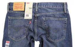 NEW LEVI'S 527 MEN'S PREMIUM CLASSIC SLIM FIT BOOTCUT LEG JE