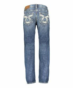 New With Tags Men's Big Star Buckle Jeans Straight Boot Unio