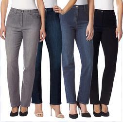 NEW Gloria Vanderbilt Women's Amanda Jeans VARIETY OF COLORS
