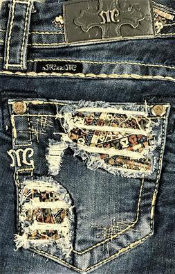 NWT New Womens Miss Me Mid Rise Easy Skinny Denim Jeans Waist 29 30 31 32 33 34