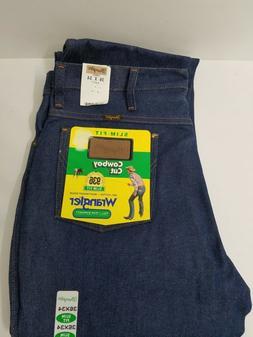 New Wrangler 936 Cowboy Cut Slim Fit Jeans Men's Size 36X34