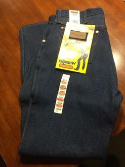 New! Wrangler Original Cowboy Cut Rodeo Jeans 35x32