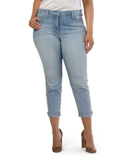 NOT YOUR DAUGHTERS JEANS NYDJ ANNABELLE SKINNY BOYFRIEND SZ
