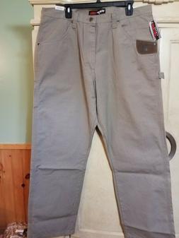 NWD WRANGLER Riggs Workwear TAN RIPSTOP CARPENTER Pants Men'