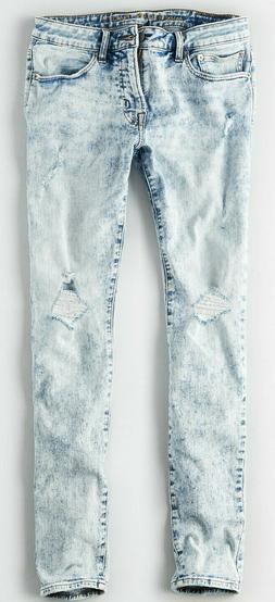 ba5ba926 NWT $60 American Eagle Flex Light Skinny Jeans 32 34 36 38 4
